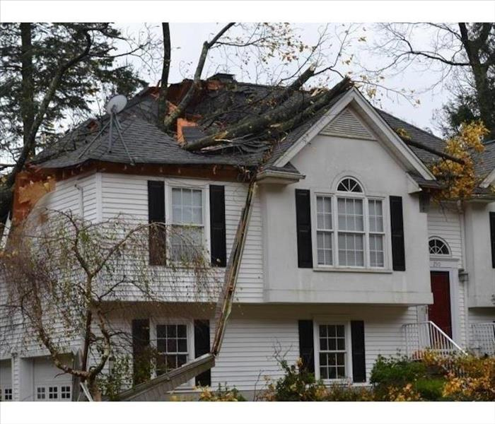 Call SERVPRO for Storm Damage!