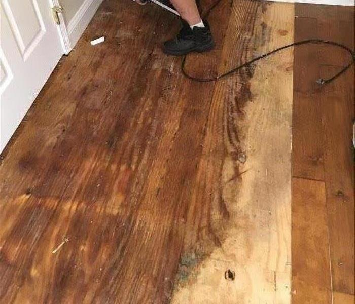 Water Heater Leaks Ruining Hardwood Floors